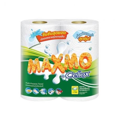 กระดาษชำระ MAXMO 48แผ่น 2ม้วน