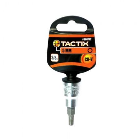 ลูกบล็อกHEXหกเหลี่ยม 5mm 360742 TACTIX