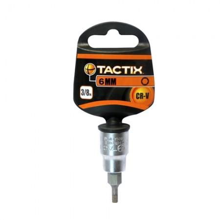 ลูกบล็อกHEXหกเหลี่ยม 6mm 360743 TACTIX