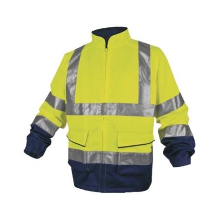 เสื้อแจ็คเก็ต PHVE2 DELTA เหลืองนีออน M