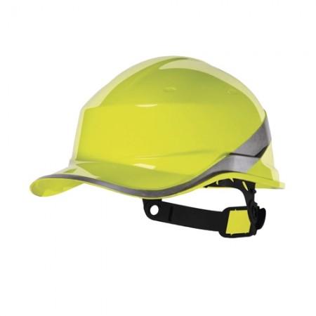 หมวกนิรภัย ABS DIAMOND V DELTA สีเหลือง DELTAPLUS