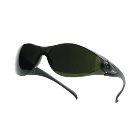 แว่นตานิรภัย PACAYA DELTA สีดำ DELTAPLUS