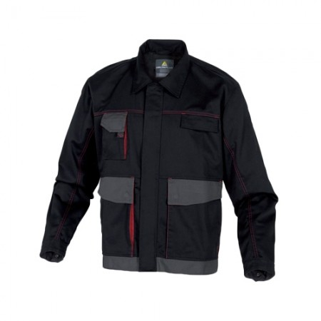 เสื้อแจ็คเก็ตDMACHVES DELTA สีดำ-แดง M