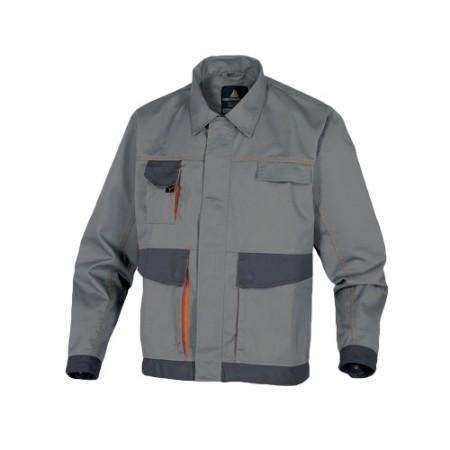เสื้อแจ็คเก็ต DMACHVES DELTA สีเทา-ส้มXL