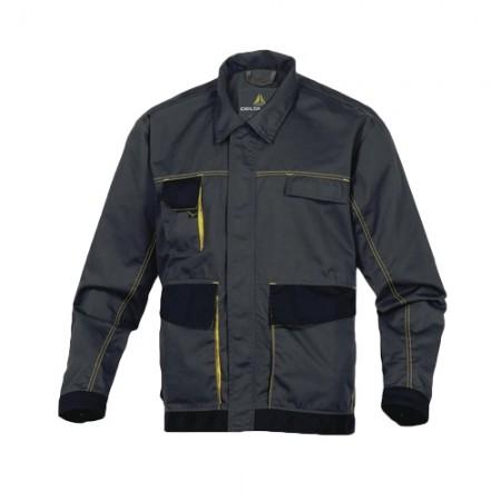 เสื้อแจ็คเก็ต DMACHVES DELTA เทา-เหลืองL