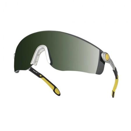แว่นตานิรภัย LIPARI2T5 DELTA สีดำ DELTAPLUS