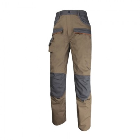กางเกงทำงาน MCPAN DELTA สีน้ำตาล XL DELTAPLUS