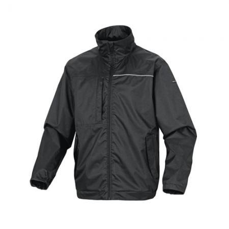 เสื้อแจ็คเก็ตกันฝน LITE DELTA สีดำ L