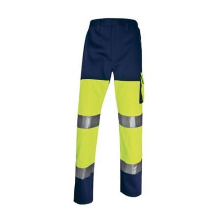 กางเกงทำงาน PHPA2 DELTA เหลืองนีออน XL  DELTAPLUS