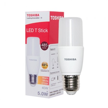หลอด LED Stick T7 5W WARM WHITE TOSHIBA