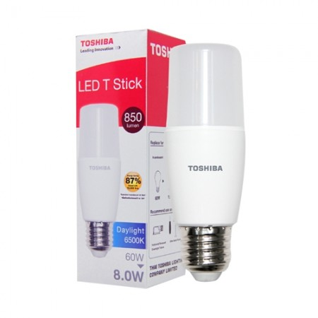หลอด LED Stick T7 8W DAY LIGHT TOSHIBA