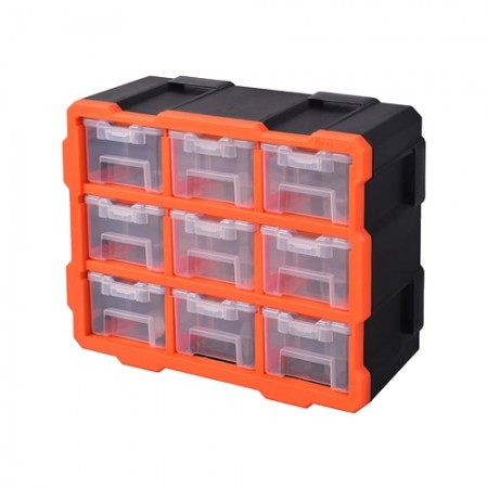 ชุดกล่อง9ช่อง เฟรมBOXRACK 320674 TACTIX