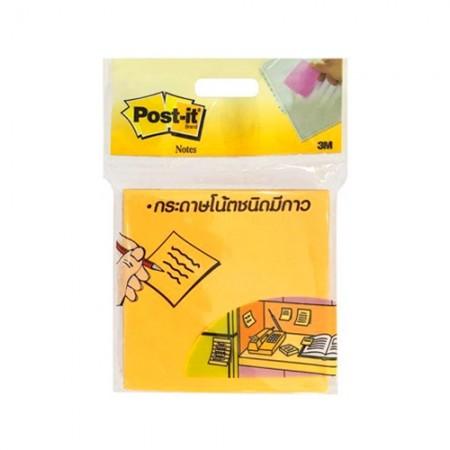 กระดาษโน๊ตPOST IT 3*3 654-HB 3M N-ส้ม