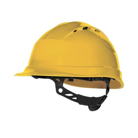 หมวกนิรภัย QUARTZ DELTAPLUS สีเหลือง=