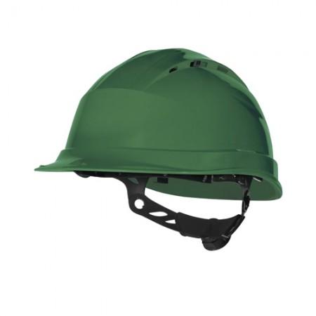 หมวกนิรภัย QUARTZ DELTAPLUS สีเขียว=