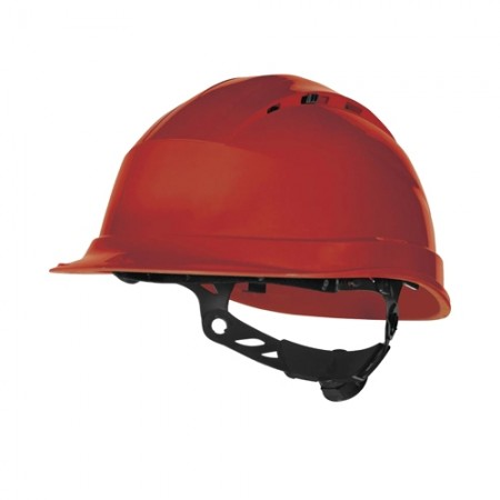 หมวกนิรภัย QUARTZ DELTAPLUS สีแดง