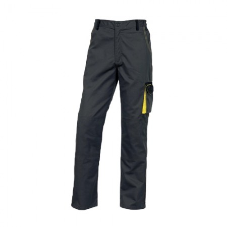 กางเกงทำงาน DMACHPAN DELTA เทา-เหลือง S