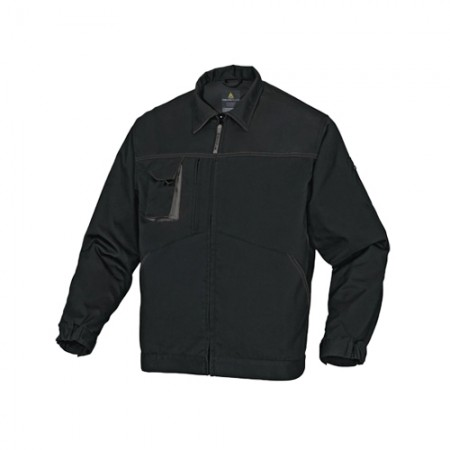 เสื้อแจ็คเก็ต M2VE2 DELTA สีดำ-เทา S