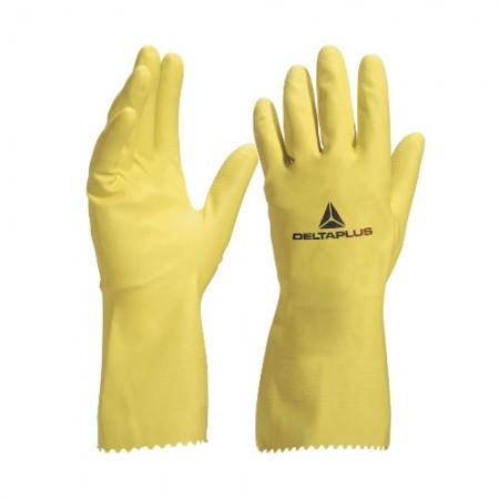 ถุงมือยาง เหลือง VE200 M DELTA