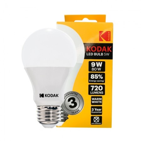หลอดไฟ LED BULB 9W WW 30420618 KODAK