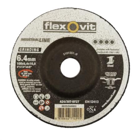 """ใบเจียรเหล็ก ขนาด 4 นิ้ว Flexovit Industrial Line 4"""""""
