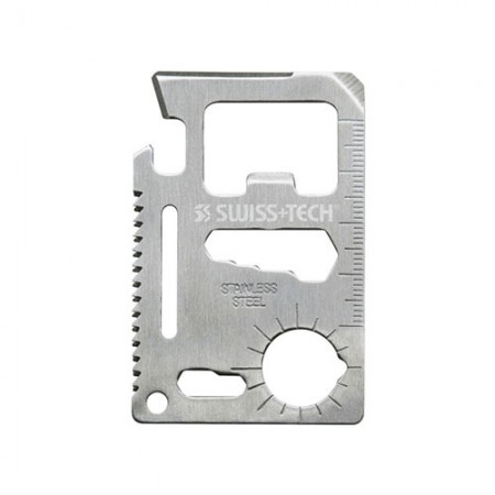 เครื่องมืออเนกประสงค์พกพา Credit Card 15in1 Swiss+Tech