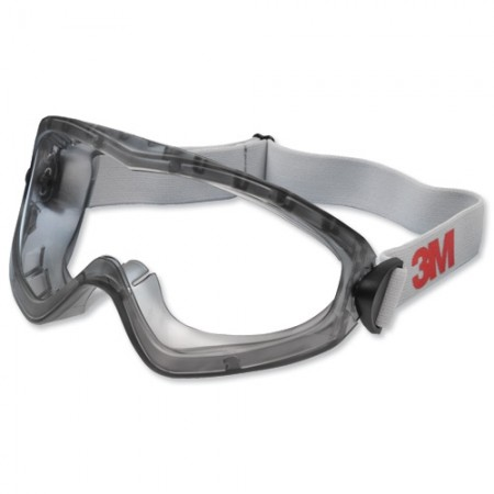 แว่นครอบตานิรภัย 2890SA ไม่มีช่องระบาย SAFETY GOGGLE 3M