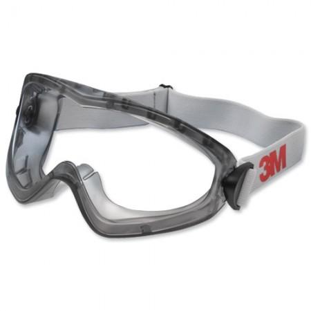 แว่นครอบตานิรภัย 2890A มีช่องระบาย SAFETY GOGGLE 3M