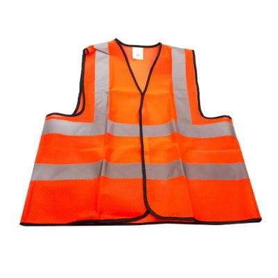 เสื้อสะท้อนแสงปรับไซส์ได้ MSS-8001 SAFETY FIRST