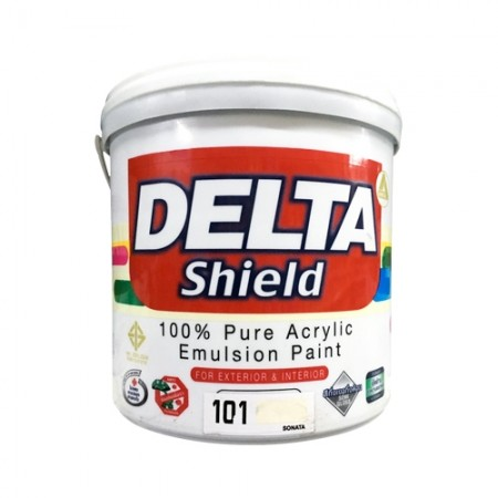 สีน้ำภายนอก เดลต้าชิลด์ 101 DELTA 1GL