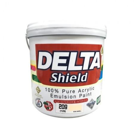 สีน้ำภายนอก เดลต้าชิลด์ 209 DELTA 1GL