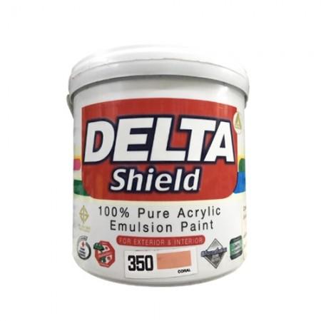 สีน้ำภายนอก เดลต้าชิลด์ 350 DELTA 1GL