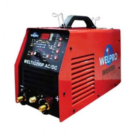 ตู้เชื่อมอาร์กอน TIG200P ACDC WELPRO