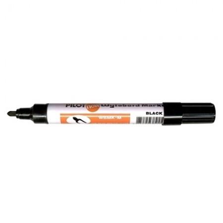 ปากกาไวท์บอร์ด กลม PILOT สีดำ