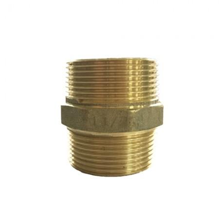 นิปเปิ้ล ทองเหลือง 1.1/4 ANA NI303