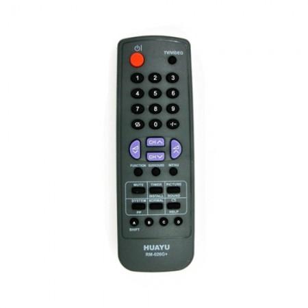 รีโมททีวีรวม RM-026 PTK-5 SHARP