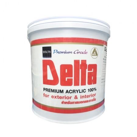สีน้ำภายนอก อะคริลิค D DELTA 1GL