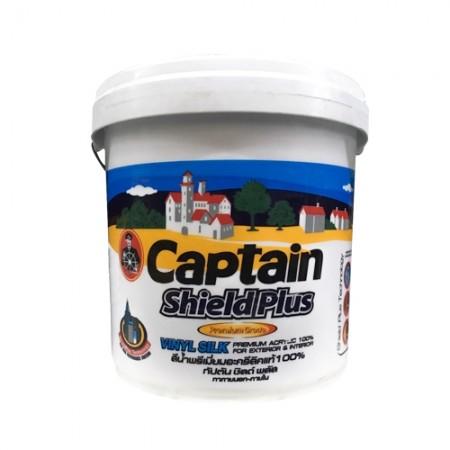 สีน้ำภายนอก A2.5 ชิลด์พลัส VINYLSILK CAPTAIN