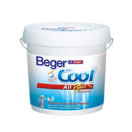 สีน้ำภายนอก ออลพลัส D COOL กึ่งเงา 2.5 BEGER