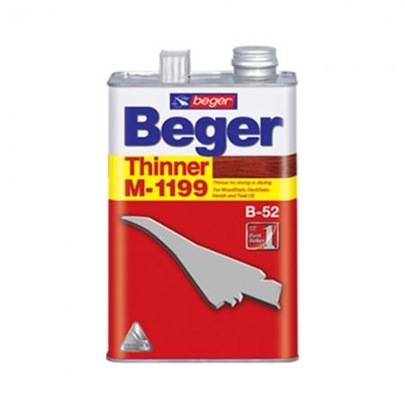 สีย้อมไม้ ทินเนอร์ M1199 1/4 BEGER
