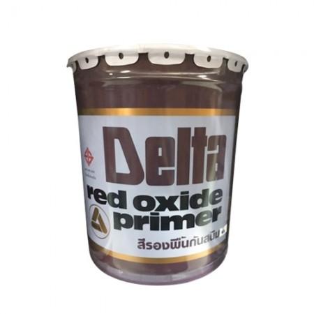 สีรองพื้นกันสนิม red lead P104 DELTA 5GL