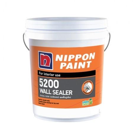 สีรองพื้นปูนใหม่ 5200 วอลซิล 5GL  NIPPON