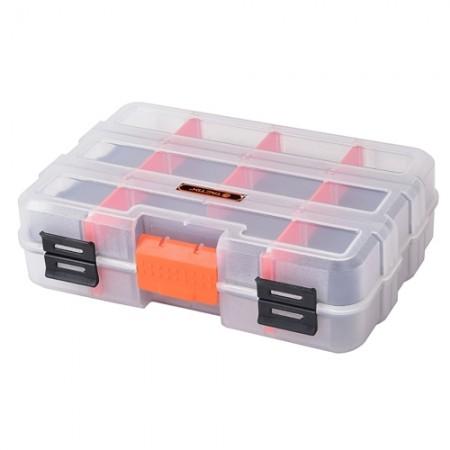 กล่องใสเก็บอะไหล่ 2 ด้าน 22.5cm. 320042 TACTIX
