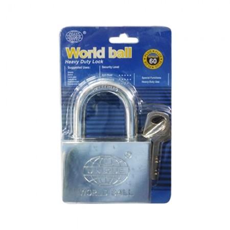 กุญแจ 60มม. WORLD BELL CITY