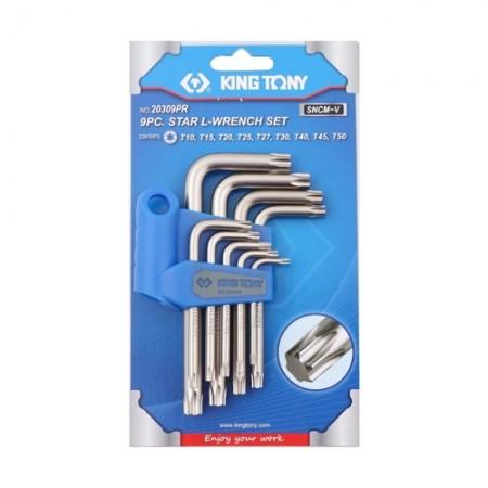 ประแจตัวL ท็อค KINGTONY 9ตัวชุด