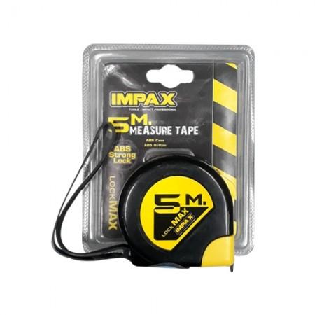 ตลับเมตร ABS 5ม. Lock Max Impact