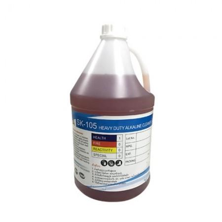 น้ำยาล้างคราบน้ำมัน SK-105 4L SHINSEIKA