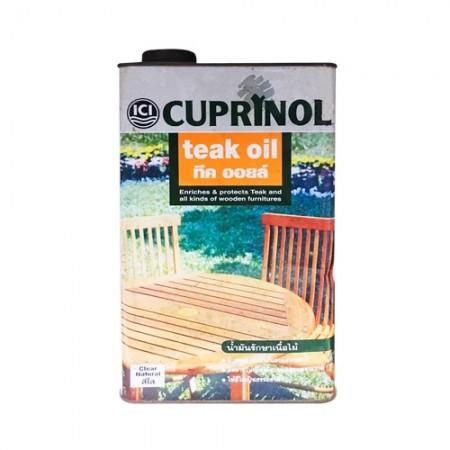 น้ำยารักษาไม้ Cupri ทีคออยส์ ใส ICI 3.5L