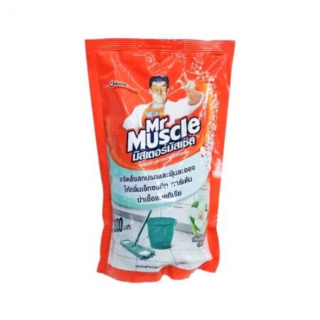 น้ำยาล้างพื้น เอ็กซอติก 800มล. Mr.Muscle
