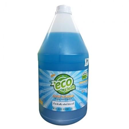 น้ำยาล้างขจัดน้ำมัน 09 ECOCLEAN 3.8L น้ำเงิน